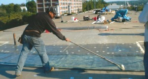 Olivieri Commercial Roofing Project In Progress _2